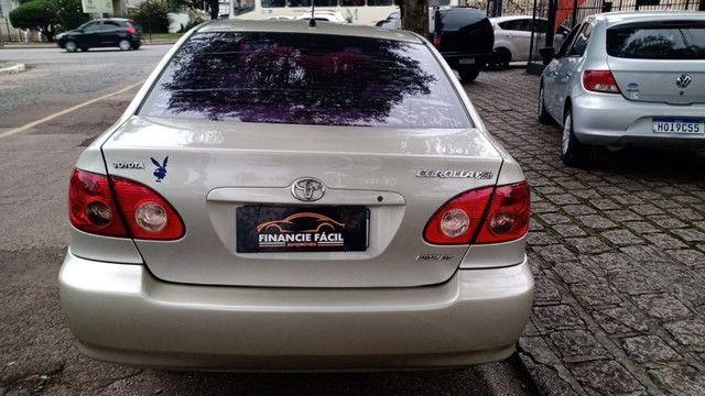 Corolla XEI 1.8 Completíssimo 2006 (S/ Entrada R$: 899,90) Financie Fácil - Foto 6