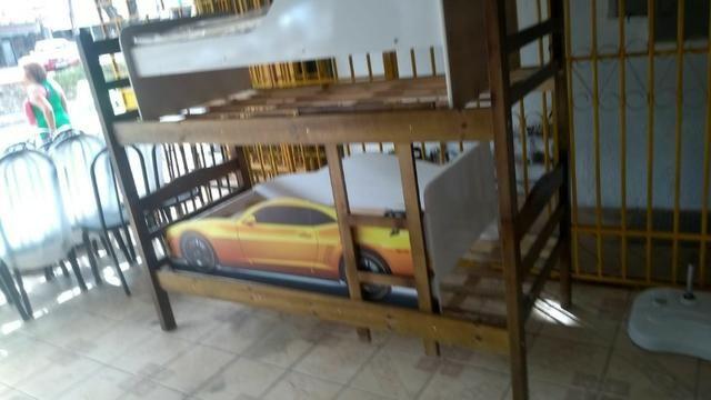Biel Móveis Beliche de madeira, pinho, envernizada, nova a partir de 250 - Foto 5