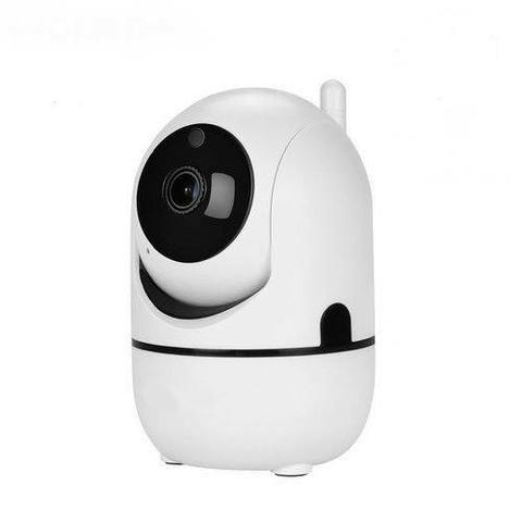 Câmera Ip Wifi Varredura Automática HD 960p Com Áudio Entrada Cartão 64gb - Foto 2