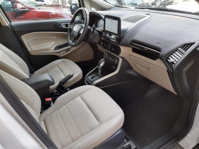 Ford 2018 Ecosport titanium Automatico completa branca apenas 15000 km impecável - Foto 8