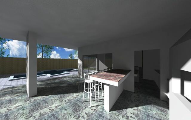 Maravilhosa casa 3 suítes com piscina no CONDOMÍNIO ESTÂNCIA QUINTAS DA ALVORADA - Foto 6