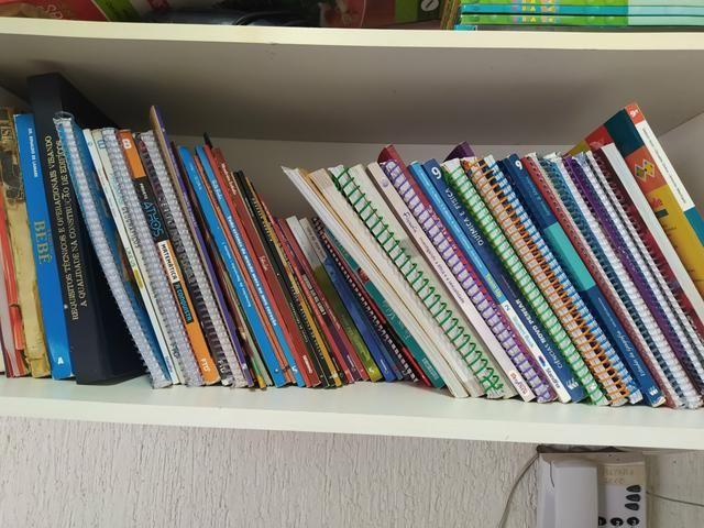 Livros didaticos e literários