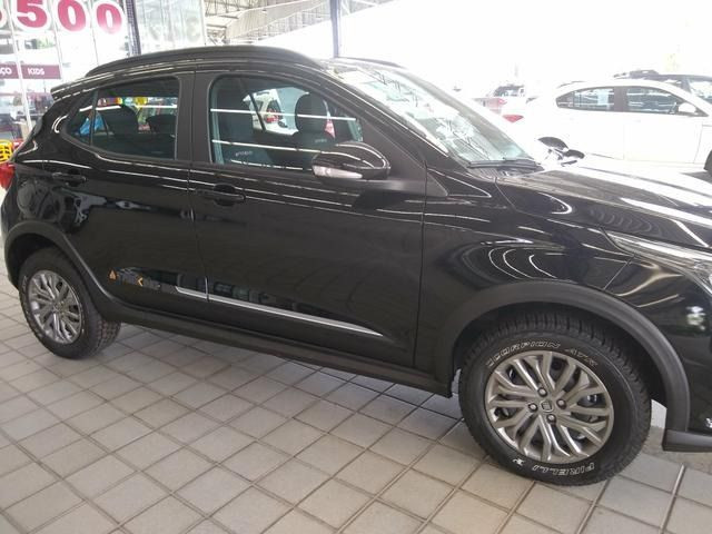 Fiat 0KM Argo treking 1.3 2021/2022 - Preto | Oferta: R$ 72.990 - Foto 3