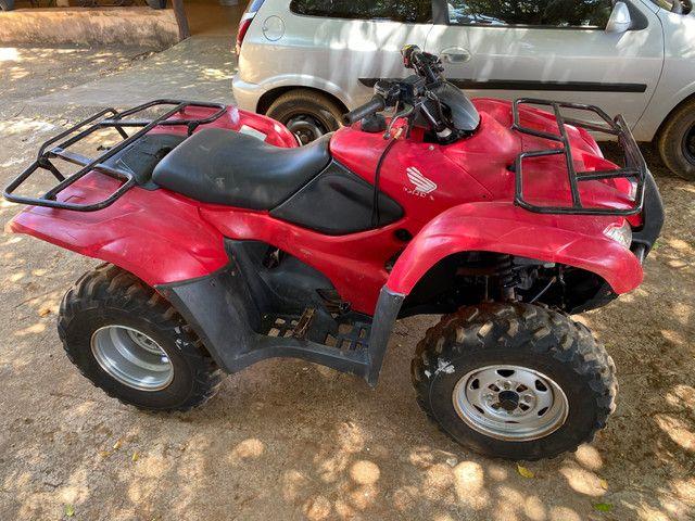 Quadriciclo Honda Fourtrax 420cc - Foto 4