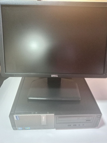 Kit Monitor Dell 19 Led e CPU dell i3