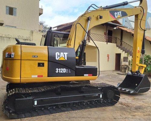 Escavadeira CAT 312 D ( Condição Especial )