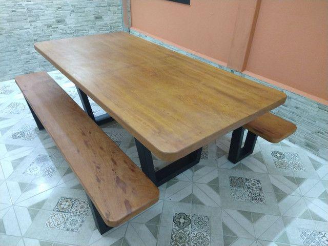 Mesa para área de churrasqueira Á PRONTA ENTREGA - Foto 4