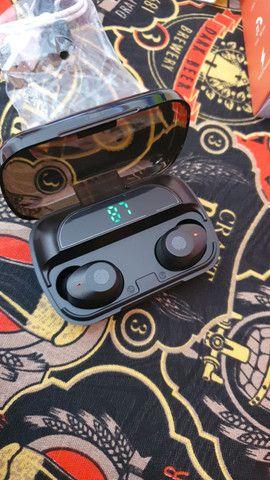 Fone de ouvido Bluetooth M5 (aceito trocas) - Foto 2