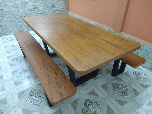 Mesa para área de churrasqueira Á PRONTA ENTREGA - Foto 6