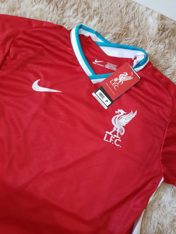 Camisa Liverpool L.F.C Nova - Foto 3