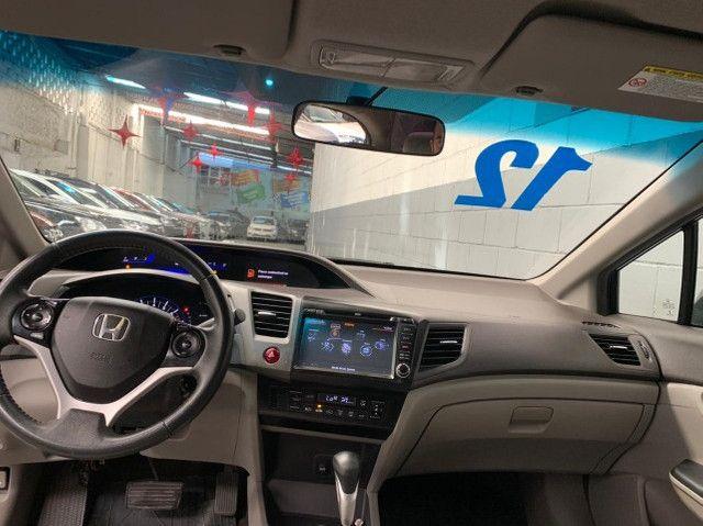 Civic LXL 1.8 Aut. 2012 Flex Completo - Foto 6