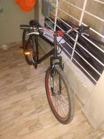 Bicicleta aro 26 para rolo em 29 com volta minha  - Foto 5