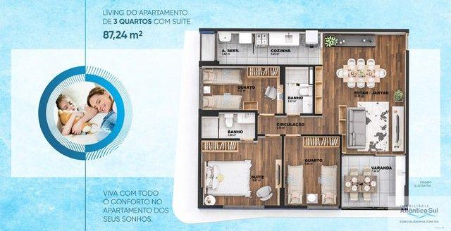 LANÇAMENTO - Apartamento 03 quartos sendo 01 suíte - World Prime - Foto 16
