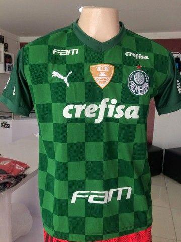 Camisa de times Palmeiras premium - Foto 2