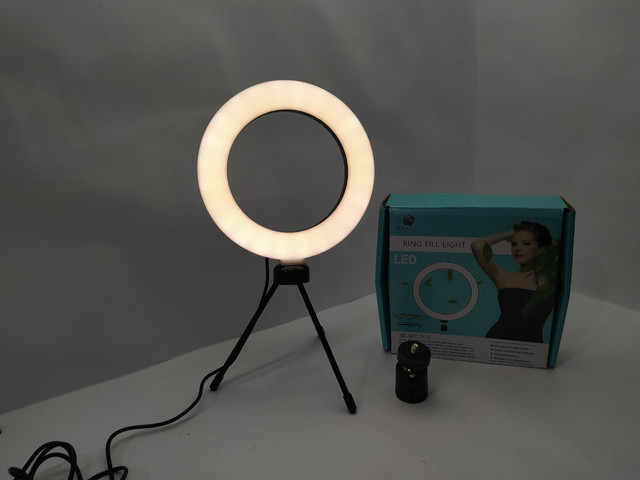 Ring Light de mesa  com MINI tripé  - Foto 3