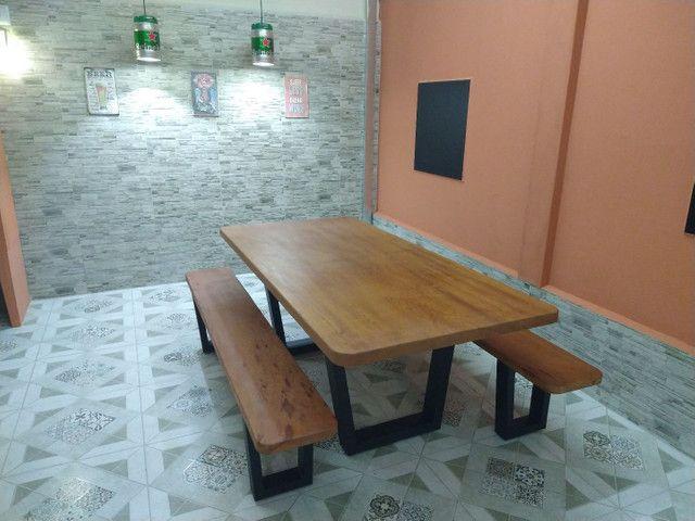 Mesa para área de churrasqueira Á PRONTA ENTREGA - Foto 5