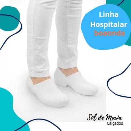 Sapato de Enfermeira (o) Soft Works - Foto 2