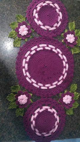Trabalho com crochê  - Foto 3