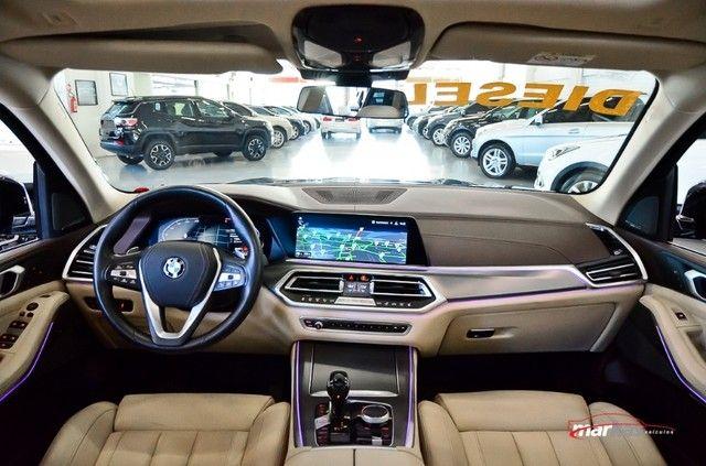 BMW X5 3.0 XDRIVE30D 265HP TETO 4X4 UNICO DONO 17 MIL KM 4P - Foto 8
