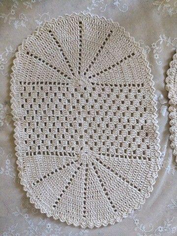 Conjunto 3 peças crochê - Foto 3