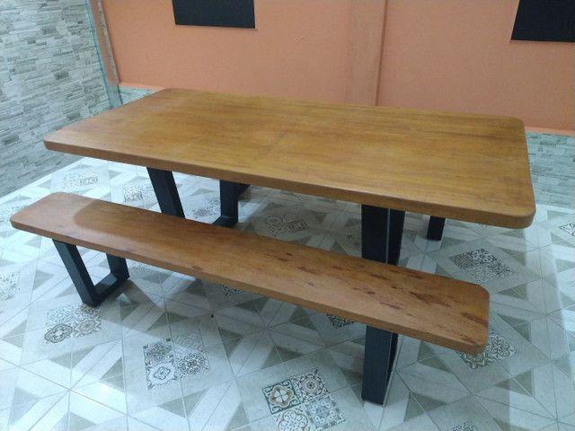 Mesa para área de churrasqueira Á PRONTA ENTREGA - Foto 2