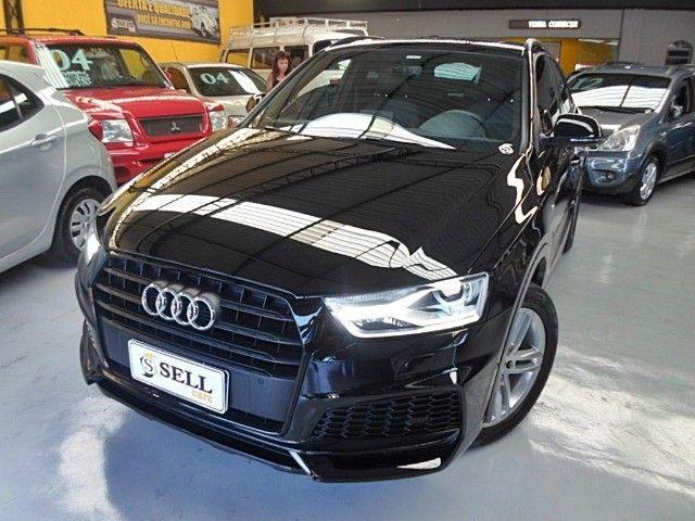 Audi - Q3 Black Edition 1.4 TFSI 2018 Flex c/ Teto Solar  - Foto 2