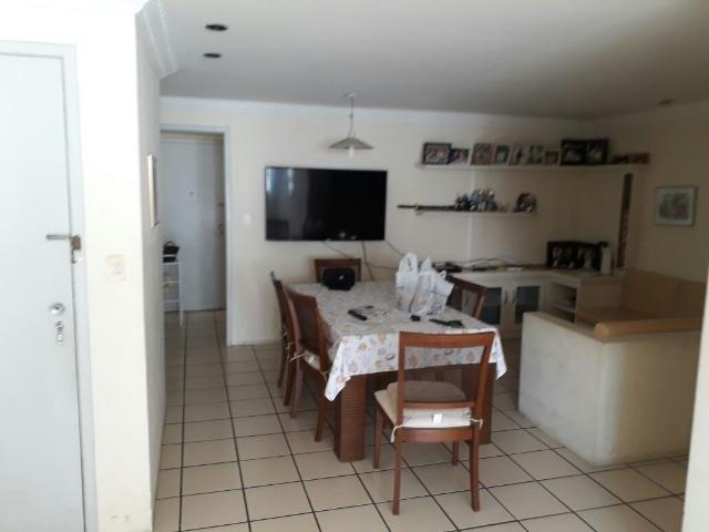 Apartamento em Boa Viagem 120m² 3 quartos + 1 dependencia completa