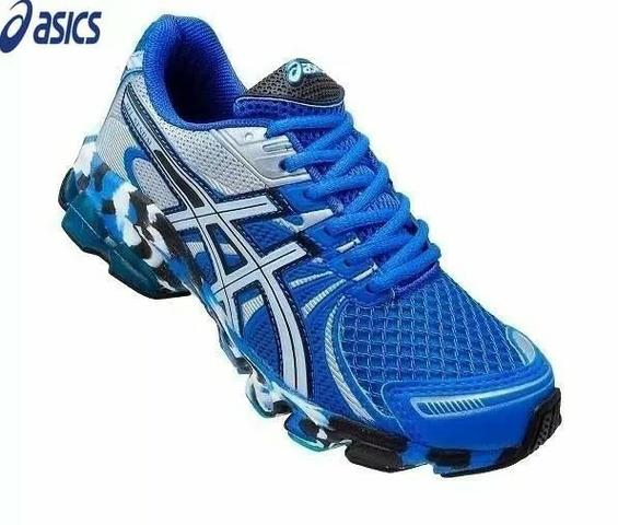 858858b21fa Tênis Asics Gel Sendai Corrida Caminhada Varejo e Atacado Promoção ...