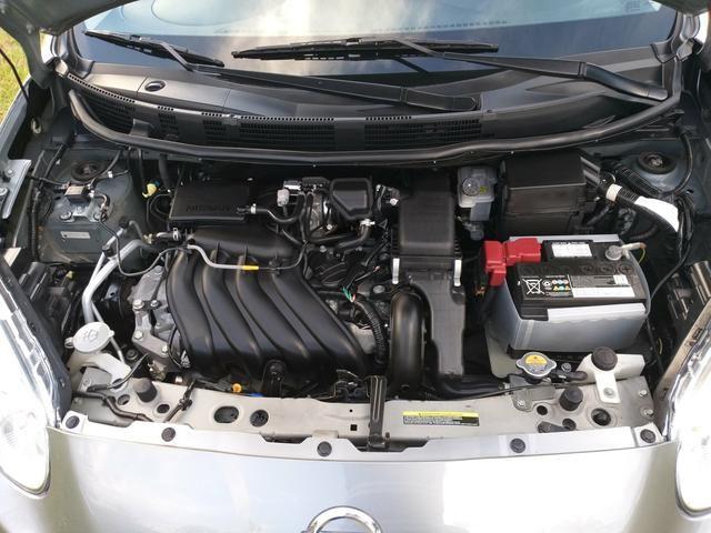 Nissan march 1.6 sv flex novissimo - Foto 7