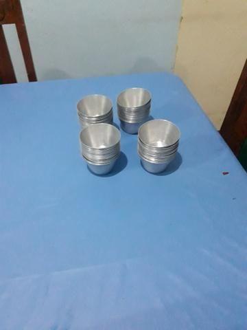 Forminhas de alumínio