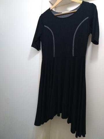 Vestido Rabusch Preto Curto M