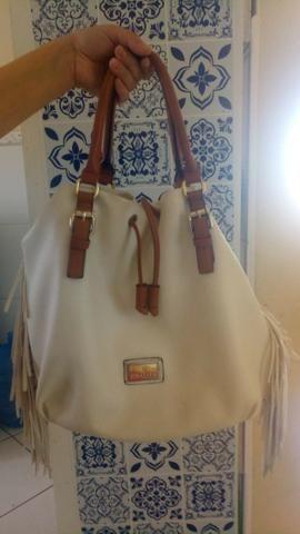 Bolsa Chalita branca belissima