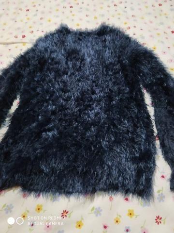 Blusão de lã.. barbada