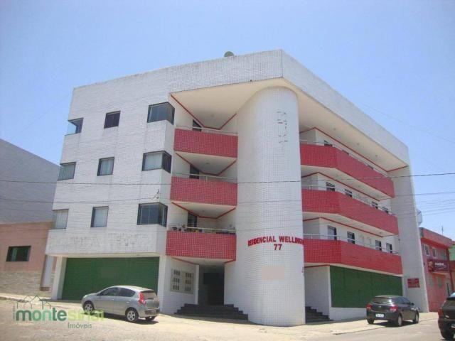 Apartamento com 2 quartos para alugar por R$ 900/mês - São José - Garanhuns/PE
