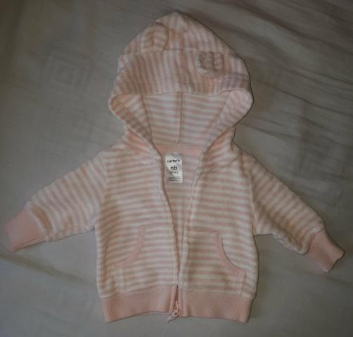 Conjunto de calça e casaco Carter's (2 peças por 25,00) - Foto 3