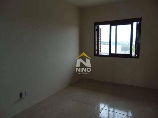 Apartamento com 2 dormitórios para alugar, 53 m² por r$ 1.000,00/mês - são vicente - grava - Foto 5
