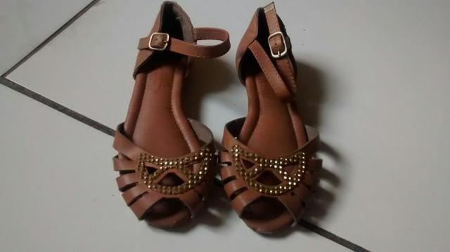 Lote de sapatos infantil 26 - Foto 6