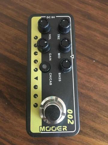 Pedal mooer preamp m002 uk gold 900 - marshall jcm 900