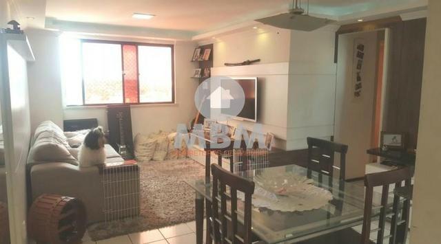 Vendo apartamento em Fortaleza no bairro Cambeba com 75 m² e 3 quartos por R$ 275.000,00