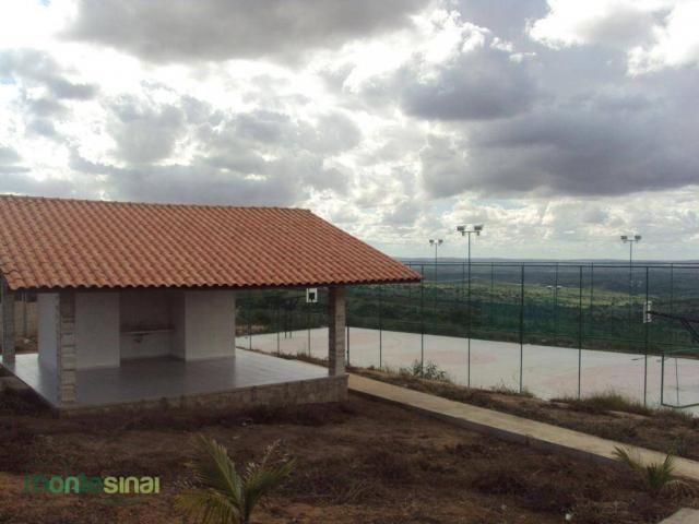 Terreno à venda, 360 m² por R$ 90.000,00 - Condomínio Bellevue - Garanhuns/PE - Foto 5