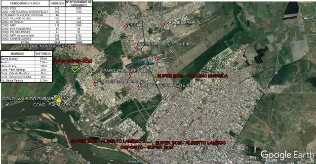 Área de 20.168,75 m² em área nobre de Campos dos Goytacazes-RJ - Foto 4