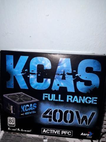 Fonte de alimentação Kcas Full range Nova para PC