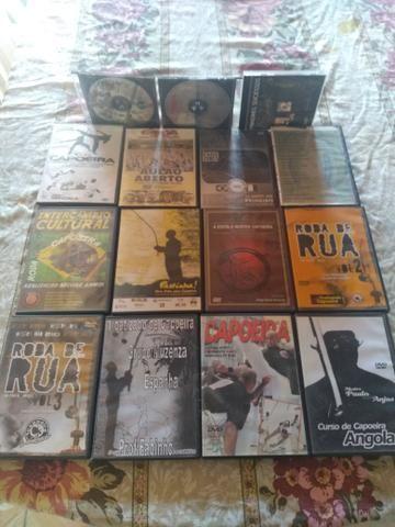 DVD de capoeira e cede