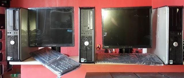 Computador Completo Dell com qualidade, ideal para empresas em geral