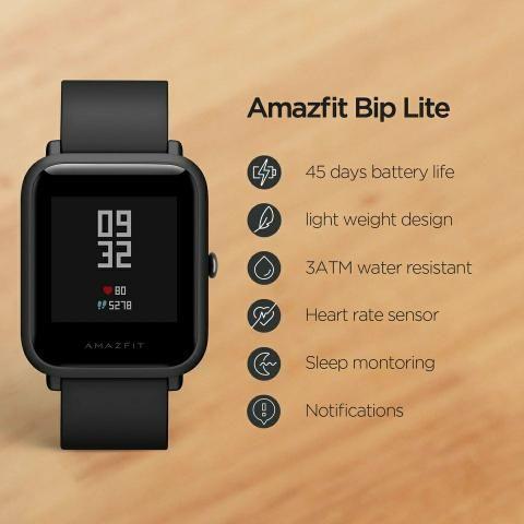 Relógio Inteligente Amazfit Bip Lite - Foto 4