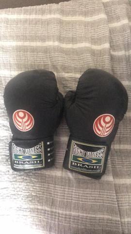 Kit Boxe Muay Thai Luva/Caneleira - Foto 3