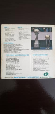 Disco vinil Gremio Campeão Mundial - Foto 2