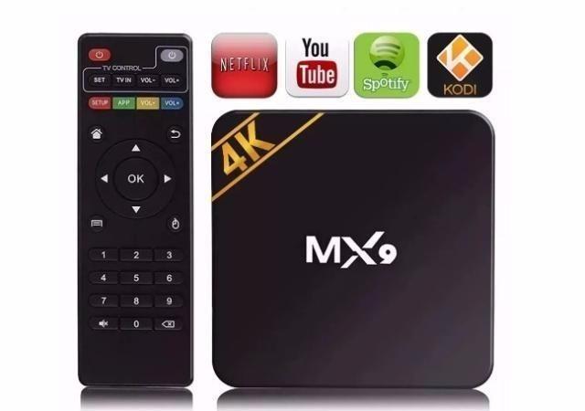 Tv Box MX9 4k (Netflix Youtube) - Foto 2