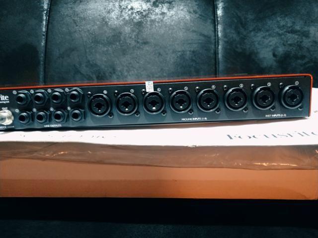 Pre/Amplificador Focusrite - dynamic - Foto 3