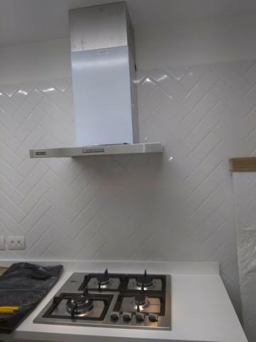 Instalação de fogão /cooktops / forno e churrasqueira